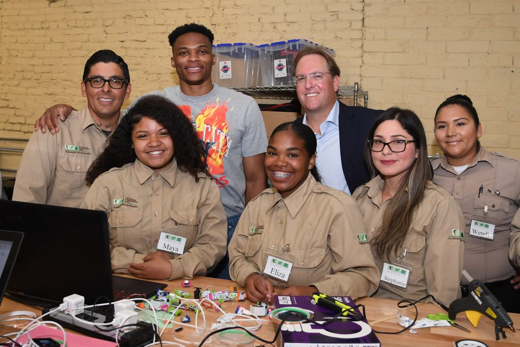 Chad Brownstein and the LA Conservation Corps